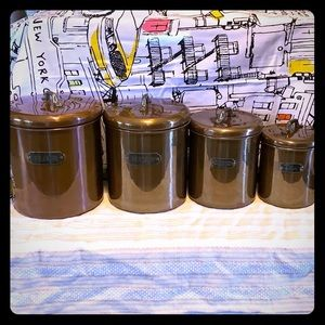 Other - Vintage Copper Canisters